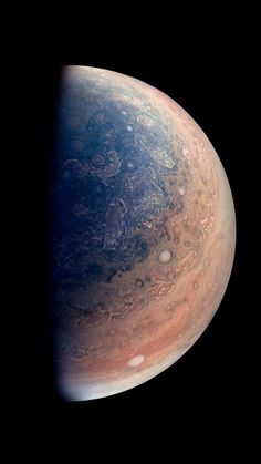Jupiter Planet As Seen By NASAs Juno Spacecraft #iPhone #6 #wallpaper