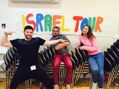 March also saw the launch of the Habo Dror Tour Process for our super-human tsevet of Sammy Lee, Jamie Wagman and Daniel Crook. The madrichim partook in the UJIA Tour Madrichim Seminar in London where they began thinking about some of the incredible things they're going to bring to HDUK Tour this summer! #choosehabotour