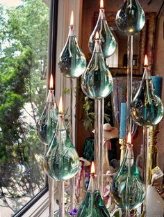 Oil Candles, Candle Companies, Candels, Christmas Paintings, Oil Lamps, Decoration, Lamp Light, Wind Chimes, Coloring Pages