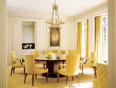 Modern Dining Room by Barbara Barry and Albert Farr in Piedmont, California