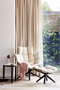 """The 'Husk' chair by Patricia Urquiola for [B&B Italia](http://www.bebitalia.com/en/