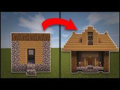 Minecraft: How To Remodel A Village Butcher s Shop YouTube Minecraft small house Minecraft house designs Minecraft designs