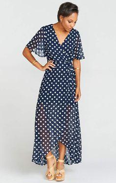 094c8aaee2fdc Show Me Your Mumu Marianne Wrap Dress ~ Dippin Dot Vestidos De Moda