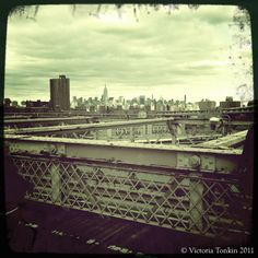 View from Brooklyn Bridge #newyork