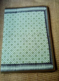 Hand-crafted, Block printed file