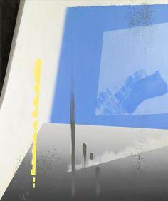 Abstract landscape, oil on linen, 205 x 170 cm. Monochrome Color, Abstract Words, New Words, Abstract Landscape, Wind Turbine, Fields, Holland, Oil, Artwork