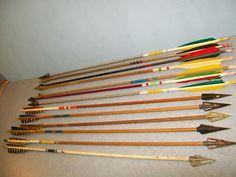 Robin Hood, vintage arrows