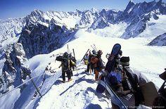 Chamonix, France - Mutewatch team member Malin Spjut's favourite place in the world.