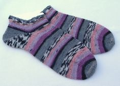 hand knit women ankle socks sports socks by knitogethersox on Etsy