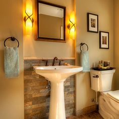 Powder Room Design Ideas, Pictures, Remodel, and Decor