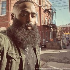 """#blackmenwithbeards #melanin #blackmen #blackman #black #blackmenwithstyle…"