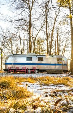 Remodeled Airstream and Barn on Large Farm Property, New York