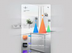 """via Muzli design inspiration. """"UI Interactions of the week is published by Muzli in Muzli - Design Inspiration. Interface Web, User Interface Design, Mobile App Design, Mobile Ui, Interaktives Design, Chart Design, Graphic Design, Interior Design, Conception D'interface"""