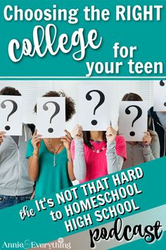 Don't be intimidated about trying to get your homeschooled teen into college. Keep these thoughts in mind and you'll feel much better.