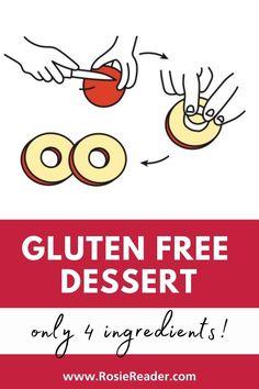 This is the best gluten-free dessert and you only need 4-ingredients! Best Gluten Free Desserts, Gluten Free Snacks, Celiac Disease In Children, Reading Adventure, Kids Reading, 4 Ingredients, Kids Meals