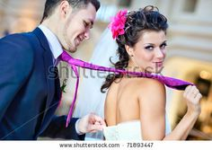Google Image Result for http://image.shutterstock.com/display_pic_with_logo/81383/81383,1298602991,2/stock-photo-young-wedding-couple-indoors-funny-portrait-71893447.jpg