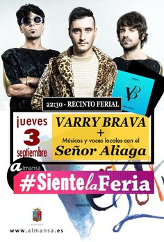 CONCIERTO VARRY BRAVA + SEÑOR ALIAGA | agendaalmansa.es