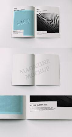 Magazine mockup #1