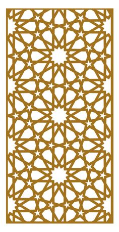 LT 9012 Decorative Lines, Decorative Screens, Islamic Art Pattern, Arabic Pattern, Wooden Wall Decor, Wooden Walls, Stencil Patterns, Pattern Art, Motifs Islamiques