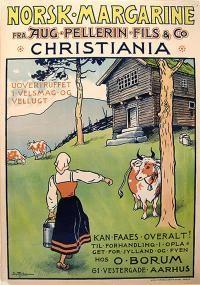 Norsk Margarine - Aug Pellerin Fils & Co Christiania