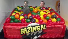 Bazinga! Wil Wheaton's Birthday Cake