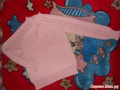 Пуловер для дочки от Светланы Волковой