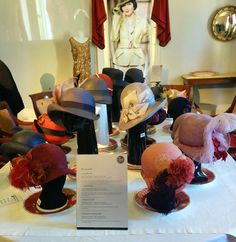 Miss Fisher hats