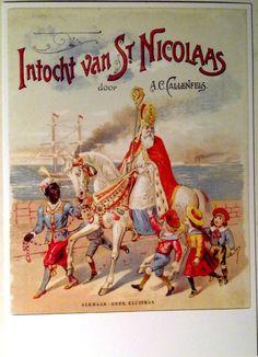 Sinterklaas intocht Good Old, Holland, December, Lettering, History, Painting, Frases, Noel, Christmas