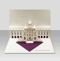 In London von Künstlerpapier/Ingenieur Judy Robinson entworfen. Diese schöne Pop-up-Karte ist aufwendig Laser geschnittene und individuell Hand gefaltet und beschnitten wird. Die Karte ist A5 Größe und Premium-Italienisch und uk-Papier-Aktien aus. Kommt mit einem Elfenbein-C5-Umschlag.