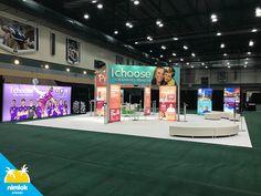 Orlando Health Custom Trade Show Booth