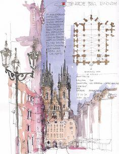 Teynkirche, Prag, CZ | by JochenSchittkowski