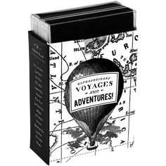 Vintage Prints Extraordinary Voyages Mini Notebooks, Set of 3 ($14) ❤ liked on Polyvore featuring home, home decor and stationery