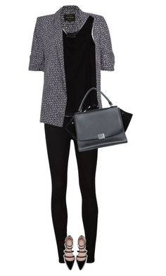 street style by ecem1 on Polyvore featuring polyvore, fashion, style, Zara, River Island, AG Adriano Goldschmied and CÉLINE
