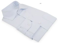 Faint Blue Pinpoint Oxford dress shirt from Luxire: http://custom.luxire.com/products/faint-blue-pinpoint-oxford  Features: Spandexter's Barba collar, 1-button cuffs and back side pleats.
