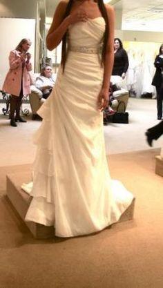 A beautiful 2010 Demetrios Wedding Gown  Brides by Demetrios Style #126-GR133WP  $300!!  http://www.bravobride.com/wedding-items/new/Bridal-Gown/brides-by-demetrios-style-126-gr133wp-38827.html