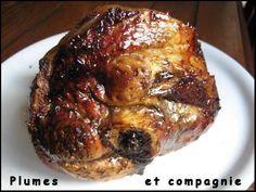 Jarret de porc caramélisé au four My Best Recipe, French Food, Sweet And Salty, Charcuterie, Carne, Entrees, Good Food, Cooking Recipes, Nutrition