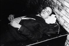 A photo taken on October 1946 shows the body of nazi criminal Hans Frank executed after his trial for war crimes during the world war II at the. Crime, Nuremberg Trials, German People, Berlin, United States Army, World War Two, Wwii, Germany Area, Nuremberg Germany