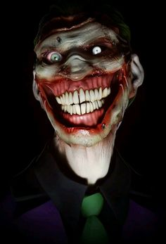 Introducing... The Clown Prince of Crime, The Harlequin of Hate.... The Joker!