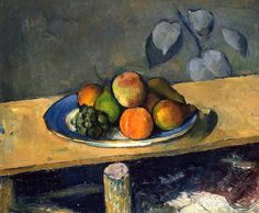 Paul Cézanne / Apples, Peaches, Pears and Grapes c. 1879/1880