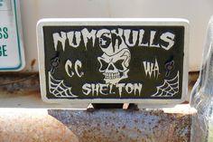 https://flic.kr/p/KWaBU4 | 1954 Chevrolet club plate | billetproof washington