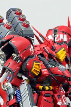 "Custom Build: G-System 1/72 MSN-04 Sazabi ""EVOLVE Ver."" - Gundam Kits Collection News and Reviews"