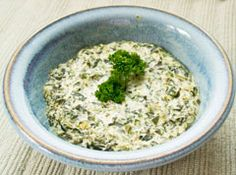 Vegan Spinach Dip- I also like to add Tahini in place of vegan spread.