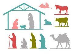 12 Crafty Nativity Set Tutorials