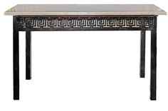 Iron & Marble console table - $4950.