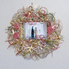 I Got Married, Happy Marriage, Wedding Coordinator, Wedding Images, Handicraft, Floral Wreath, Paper Crafts, Japanese, Crafty