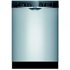 5d5523a503b Bosch Ascenta Series 24 In. Stainless Steel Recessed Handle Built-In  Dishwasher –