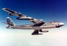 """Boeing B-47 Stratojet Heavy Nuclear Bomber ~I remember wondering where we would end up while loading tail gun ammo cans into them during the """"Missiles of October"""" stand-off w/ Russia over missile discovery in Cuba - Oct, 1962..."""