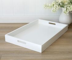 Home Decor and Homewares Online. Beautiful fabric notice boards, pin boards, French home decor & accessories online. White Tray, White C, Home Decor Accessories, Accessories Online, French Home Decor, Home Gadgets, Rectangle Shape, Wooden Boxes, Homewares Online