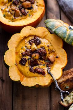 Low Carb Recipes To The Prism Weight Reduction Program Chipotle Pumpkin Soup With Crispy Chorizo Caramelized Apples Hbharvest Thanksgiving Recipes, Fall Recipes, Soup Recipes, Cooking Recipes, Easy Cooking, Pumpkin Soup, Pumpkin Recipes, Pumpkin Spice, Caramelised Apples