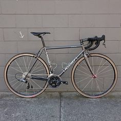 """Ritchey Road Logic build. Pink KingR45/HED Belgium wheelset, SRAM Force, Ritchey cockpit. So good!"""